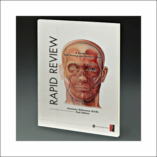 RAPID REVIEW ANATOMY REFERENCE GUIDE - 3RD EDITION