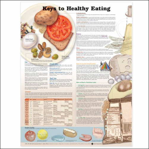 KEYS TO HEALTHY EATING 2ND EDITION CHART - PAPER