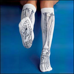 BONES SOCKS, WHITE